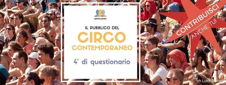 Stiamo mappando i pubblici del circo contemporaneo in Italia
