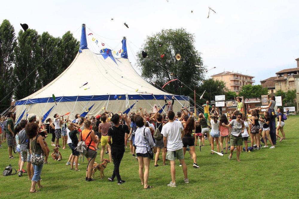 Quinta Parete Circus Community al festival Il Ruggito delle Pulci con #ComunicaCirco