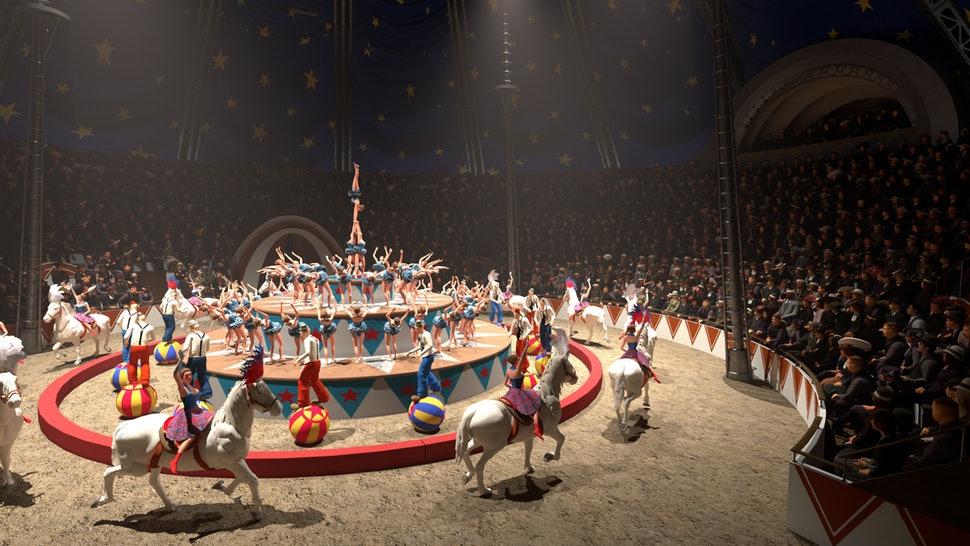 Alfabeto di circo per il 2020